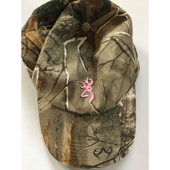 0068cffb7 Browning Accessories | Womens Camo Baseball Cap | Poshmark